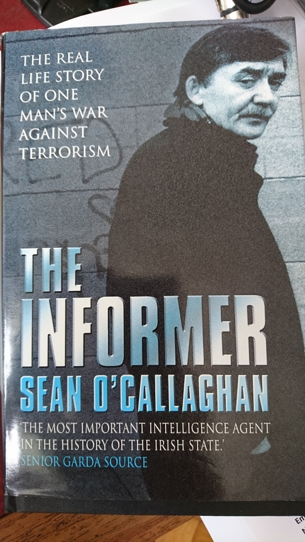 Sean O'Callaghan – RIP